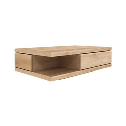 Oak Flat coffee table | Lounge tables | Ethnicraft