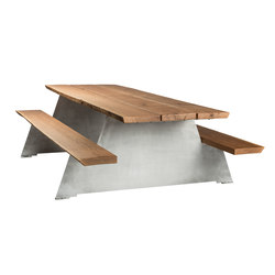 Solid | Restaurant tables and benches | CASSECROUTE