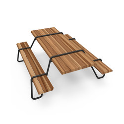 Clip-board picnic 220 | bench & table | Restaurant tables and benches | Lonc