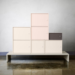 Montana Regalsystem | Anwendungsbeispiel | Sideboards / Kommoden | Montana Furniture