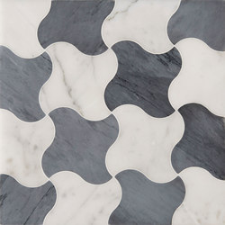 Art Deco Lempicka | Natural stone tiles | Claybrook Interiors Ltd.