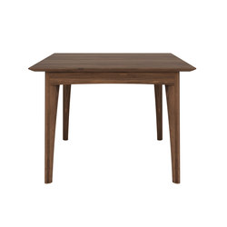 Walnut Osso square dining table | Restauranttische | Ethnicraft