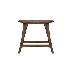 Walnut Osso stool | Bar stools | Ethnicraft