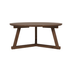 Walnut Tripod coffee table | Lounge tables | Ethnicraft