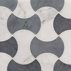 Art Deco Teague | Natural stone wall tiles | Claybrook Interiors Ltd.