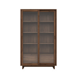 Walnut Wave Book rack | Display cabinets | Ethnicraft