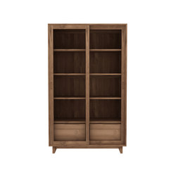 Teak Wave Book rack | Vetrine / Vetrinette | Ethnicraft