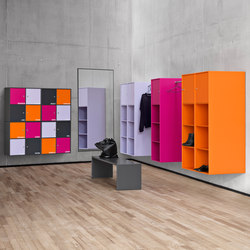 Montana Shelving system | application example | Wall mounted coat racks | Montana Møbler