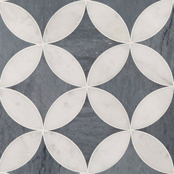 Art Deco Corbusier (Large) | Azulejos de pared de piedra natural | Claybrook Interiors Ltd.