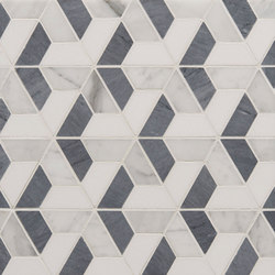 Art Deco Trident | Natural stone tiles | Claybrook Interiors Ltd.