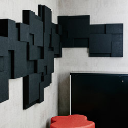 Nivå | Wall Panel | Sound absorbing wall systems | Götessons