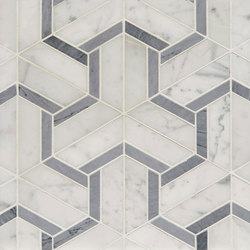 Art Deco Maze (Large) | Piastrelle pietra naturale | Claybrook Interiors Ltd.