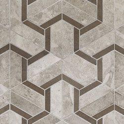 Art Deco Maze (Large) | Azulejos de pared de piedra natural | Claybrook Interiors Ltd.