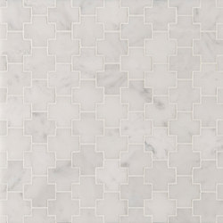Manhattan Cross | Natural stone tiles | Claybrook Interiors Ltd.