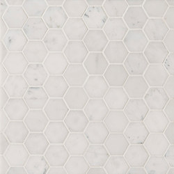 Manhattan Hexagon | Azulejos de pared de piedra natural | Claybrook Interiors Ltd.