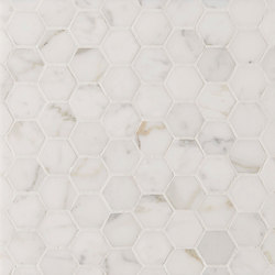 Manhattan Hexagon | Natural stone tiles | Claybrook Interiors Ltd.