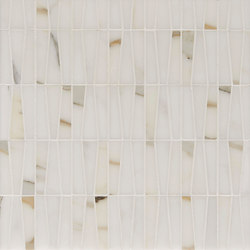Manhattan Trapezoid | Azulejos de pared de piedra natural | Claybrook Interiors Ltd.