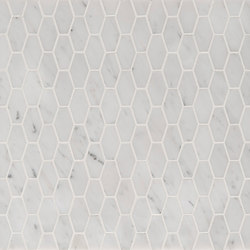 Manhattan Elongated Hexagon | Piastrelle pietra naturale | Claybrook Interiors Ltd.