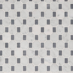 Manhattan Octagon | Natural stone tiles | Claybrook Interiors Ltd.