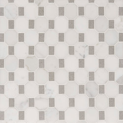 Manhattan Octagon | Azulejos de pared de piedra natural | Claybrook Interiors Ltd.