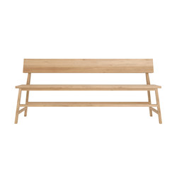Oak N3 bench | Waiting area benches | Ethnicraft