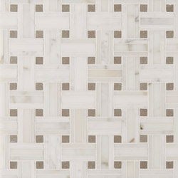 Manhattan Tri Weave | Naturstein Fliesen | Claybrook Interiors Ltd.
