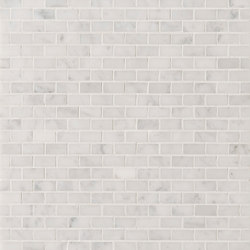 Manhattan Mini Brick | Natural stone tiles | Claybrook Interiors Ltd.