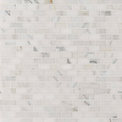 Manhattan Mini Brick | Azulejos de pared de piedra natural | Claybrook Interiors Ltd.