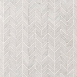Manhattan Herringbone | Baldosas de piedra natural | Claybrook Interiors Ltd.