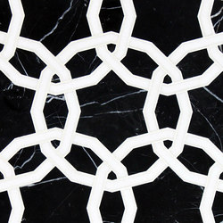 Marrakech Octet Stone Mosaics | Azulejos de pared de piedra natural | Claybrook Interiors Ltd.