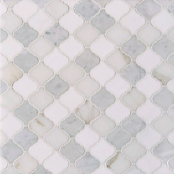Marrakech Ismir Stone Mosaics | Azulejos de pared de piedra natural | Claybrook Interiors Ltd.