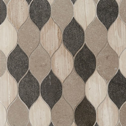 Marrakech Fes Stone Mosaics | Dalles en pierre naturelle | Claybrook Interiors Ltd.