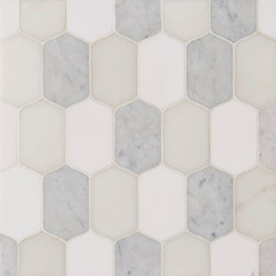 Marrakech Souk Stone Mosaics | Dalles en pierre naturelle | Claybrook Interiors Ltd.