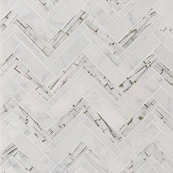 Safari Offset Herringbone | Natural stone tiles | Claybrook Interiors Ltd.