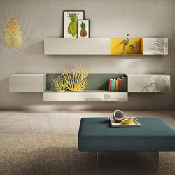 36e8 Side Storage | Wall storage systems | LAGO