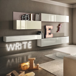 36e8 Side_storage | Wall storage systems | LAGO