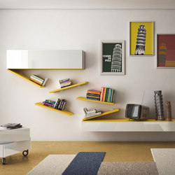 DiagoLinea_shelf | Wall storage systems | LAGO