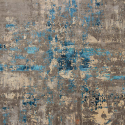 Abstracts 1 blue | Rugs | THIBAULT VAN RENNE