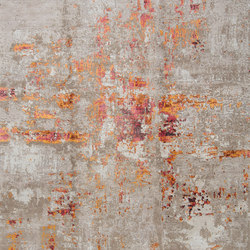Abstracts 4 red | Formatteppiche | THIBAULT VAN RENNE
