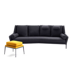 Flexi club 2 lounge sofas from ld seating architonic for B6b italia