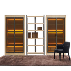 Eracle | Display cabinets | Maxalto