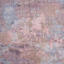 Elements Savonnerie pink purple blue | Formatteppiche / Designerteppiche | THIBAULT VAN RENNE