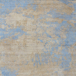 Elements Savonnerie Saffron blues | Rugs | THIBAULT VAN RENNE