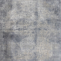 Elements Star border grey | Rugs / Designer rugs | THIBAULT VAN RENNE