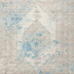 Immersive Lost memory brown blue | Rugs | THIBAULT VAN RENNE