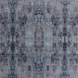 Visual purple blues | Rugs | THIBAULT VAN RENNE