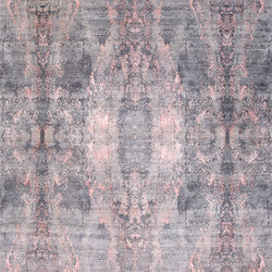Visual grey pink | Formatteppiche / Designerteppiche | THIBAULT VAN RENNE
