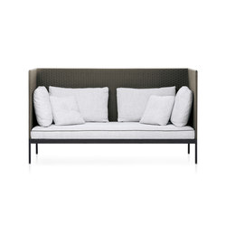 BASKET high back sofa | Sofas de jardin | Roda