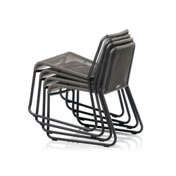 HARP stackable chair | Sedie | Roda