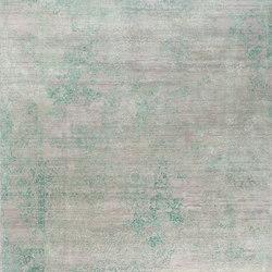 Viviane VIV9 in grey turquoise | Tappeti / Tappeti d'autore | THIBAULT VAN RENNE